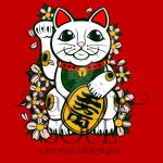 Lucky Cat 2015 by RavensSoulDesigns