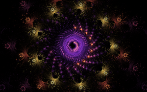 swirl creation in the dark by Andrea1981G