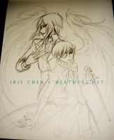 WIP: Ciel and Sebastian by ghost