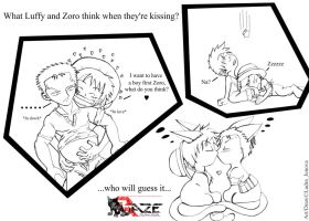 Kissing-One Piece Yaoi-MPREG by Ludra-Jenova