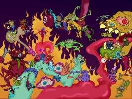Ratfink Hell by Makinita