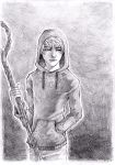 RoTG - Jack Frost pencil by Sardiini