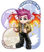 My Gaia Online Avatar by DemonicAtemu