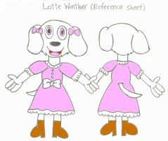 Lotte Winther (Reference Sheet) by AlbusFay