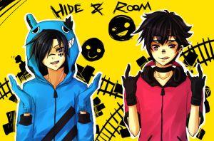 Collab :: Hide + Room by rheume
