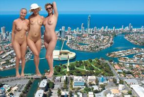 Three Nude Giantess by ilikemercs