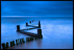 Hunstanton groynes by speedclicker666