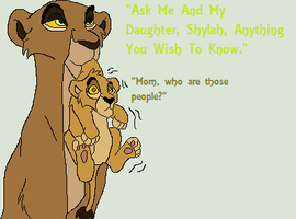 Ask Timara and Shylah~ by Cece-Edgars-Sister