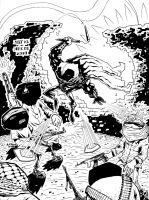 Moon Knight Inks by soliton