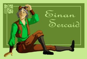 Einan Sercaid for Lokotei by Crispy-Gypsy