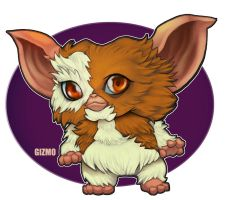 Chibi01:The Mogwai by mulcimber