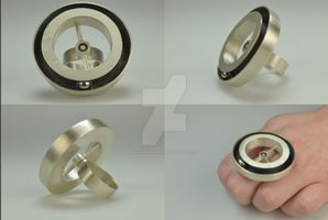 Movers and Spinners Spinning Sterling Silver Ring by Hannah-Marie
