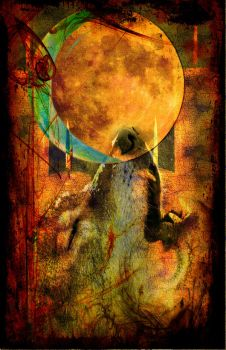Tease Tarot: The Moon by StellaPrice