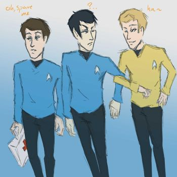 TOS Trio by wafflebox