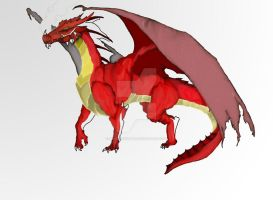 Red Dragon by BlindAcolyte
