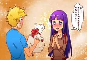 NaruHina - The Special Present by Loli-King