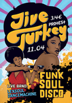 Jive Turkey poster by wamukota