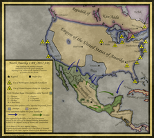 Post Apocalyptic North America by Sapiento