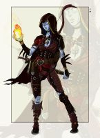 Commission: Leyli by StefanoMarinetti