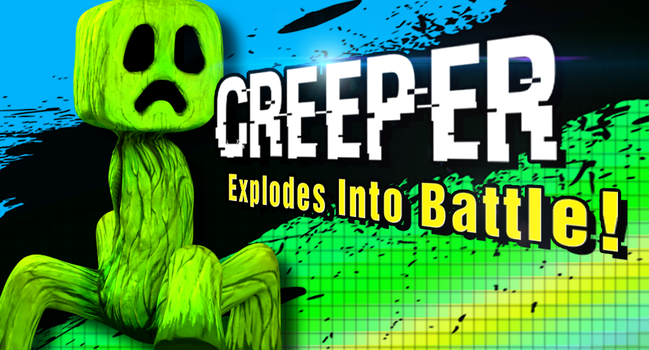 Creeper Explodes Into Battle by zson