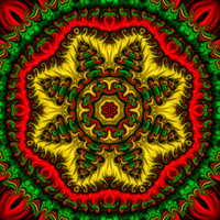 Mandala Design 4 by DennisBoots