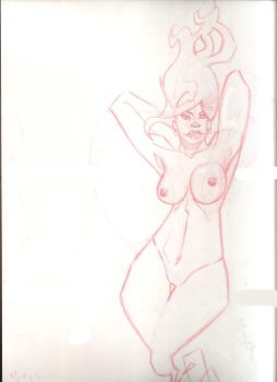 Abstract Nude by rknightonjr