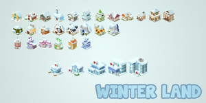 Storky Express : Building Winter Land by Ralph-Burnstein