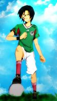 Mexico and the Football by Juan-Nikte