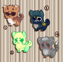 15pt Puppy/Kitten Adopts ~ Mixed {CLOSED} by UnoleSpirit