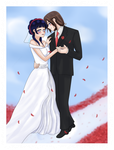 NejiHina Wedding by HitoriLoveNejiHina