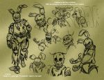 Springtrap Concepts 03 - 3-23-16 by Mattartist25