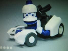 Ape Escape: Piposaru Racer Toy by PipoMadness1992