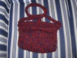 Fuzzy Shoulder Bag by mizufusion