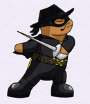 Lord Archeon as Zorro by chili19