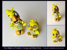 - Five Nights at Freddy's - Chica Sculptures by Lu0ren