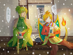 Pokimono Secrete Santa 2015: Tea Time by DingDingy