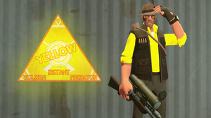 Team Fortress 2 - Yellow Team by labet1001