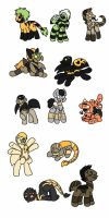bug horror adoptables (1 left) by angrykarin666