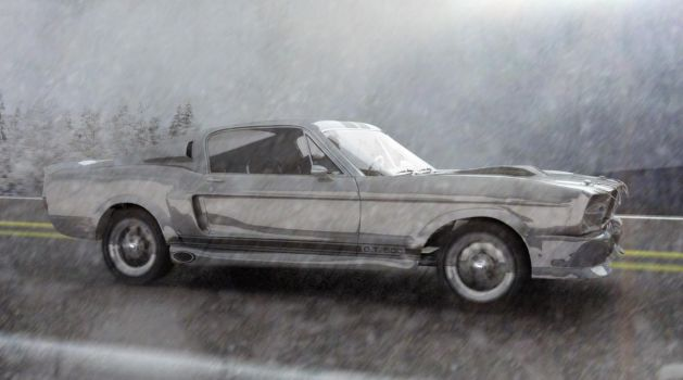 Mustang Winter by lcamaral
