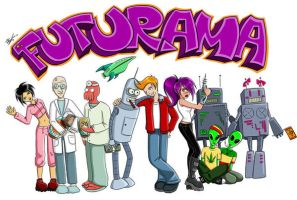 Futurama by cibo-black-cat