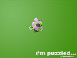 Puzzled puzzlepiece by danground