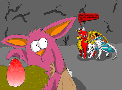 Wrong Egg: Constest Entry by tornadothevulture22