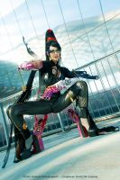 Bayonetta's shot! by Daelyth