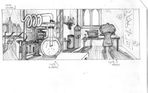 Storyboard and Layout by Gorpo