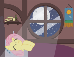 Adorable Needs Sleep Too by AlextheArtsy