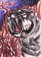 ACEO Singe by Aspendragon