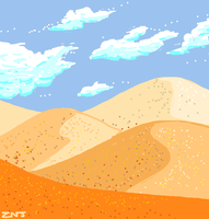 Sand for Draw Something by zachjacobs