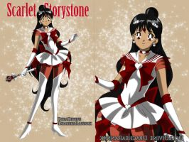 Scarlet Storystone by an81angel