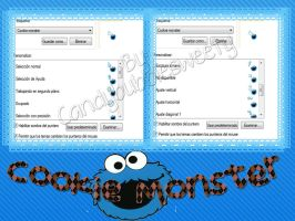 Cursores Cookie Monster By Candybubblesweety by candybubblesweety