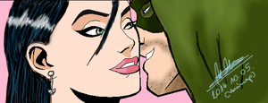 me and oliver queen by MrsCromwell